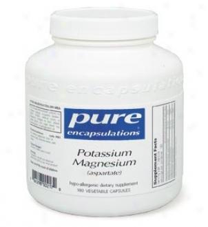 Pure Encap's Potassium/magnesium - Aspartate Formula 180vcaps