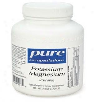Pure Encap's Potassium/magnesium - Citrate 90vcaps