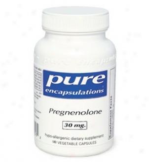 Pure Encap 's Pregnenolone 30mg 180vcaps