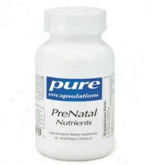 Pure Encap's Prenatal Nutrients 120vcaps
