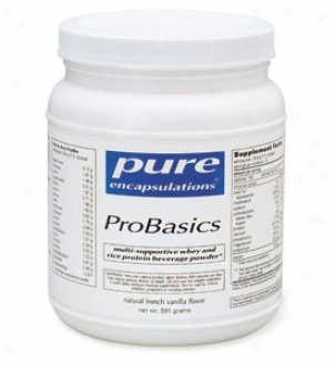 Pure Encap's Probasics - Strawberry Banana Creme 573gm