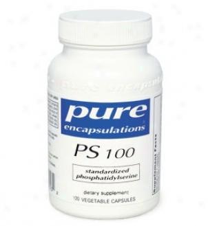 Pure Encap's P.s. 100 - Standardized 100mg 120vcaps
