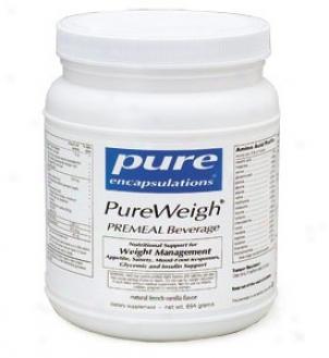Pure Encap's Pureweigh Premeal Beverage - Strawberry Banana 640gm