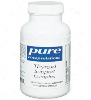 Pure Encap's Thyroid Support Complex 120cwps