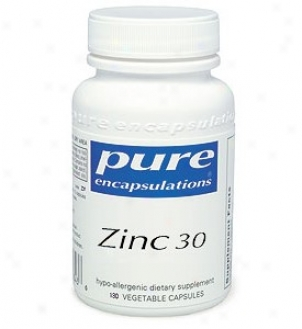 Pure Encap's Zinc 30mg 60vcaps