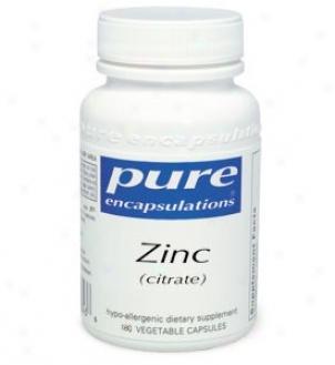 Pure Encap's Zinc - Citrate 180vcaps