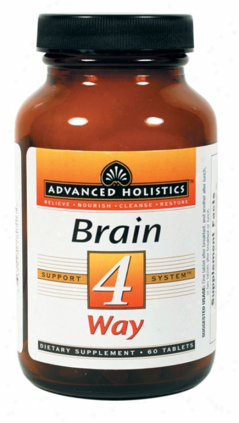 Pure Essence's Advanced Holistics Brain 4 Way 60tabs