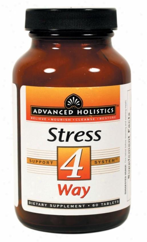 Pure Essence's Advanced Holistics Stress 4 Way 60tabs