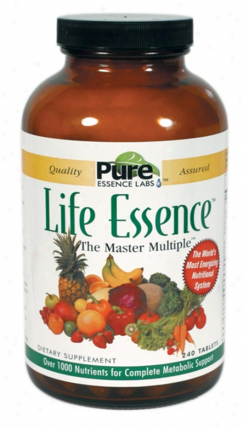 Pure Essenve's Life Essence The Master Multiple Veg Form 240tabs