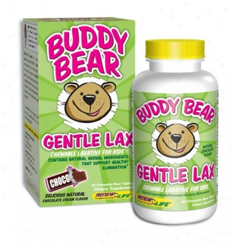 Regenerate Life's Buddy Bear Gentle Lax 60 Tabs