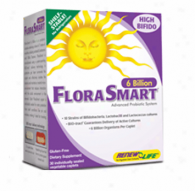 Renew Life's Florasmart Box (6 Billion) 30tabs