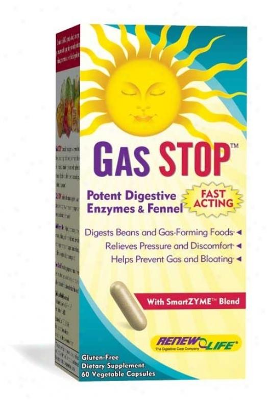 Renew Life's Gasstop 60vcaps