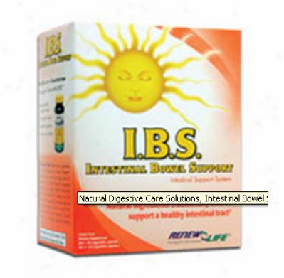 Renew Life's I.b.s. (intestinal Bowel Support) 2-partt Kit 30caps