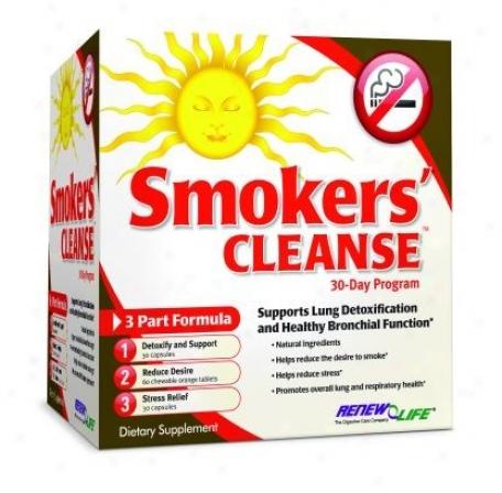 Renew Life's Smoker Cleanse (3 Part Kit)  New!!