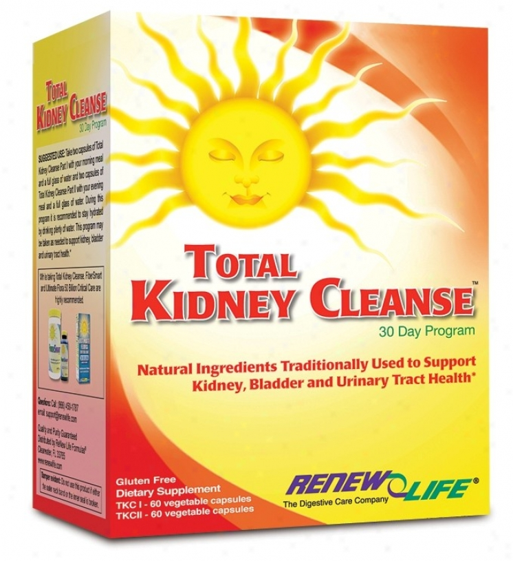 Renew Life's Total Kidney Cleanse 2 Part Kit