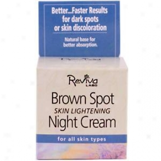 Reviva's Brown Spot Night Cream 1oz