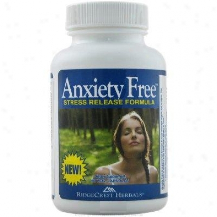 Ridfecrest's Anxiety Free Stress Release Formula 60vcaps