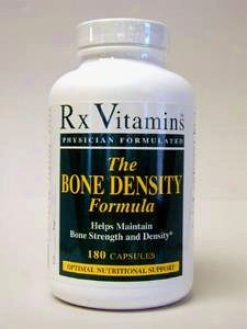 Rx Vitamin's Bone Density Formula 180 Caps
