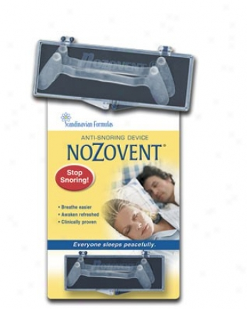 Scandinavian Formulas Nozovent Anti-snore 2box
