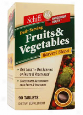 Schiff's Fruits & Vegetables Harvest Blend 90tabs