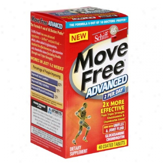 Schiff's Move Freeã¿â¿â¾ Advanced Coated 40tabs