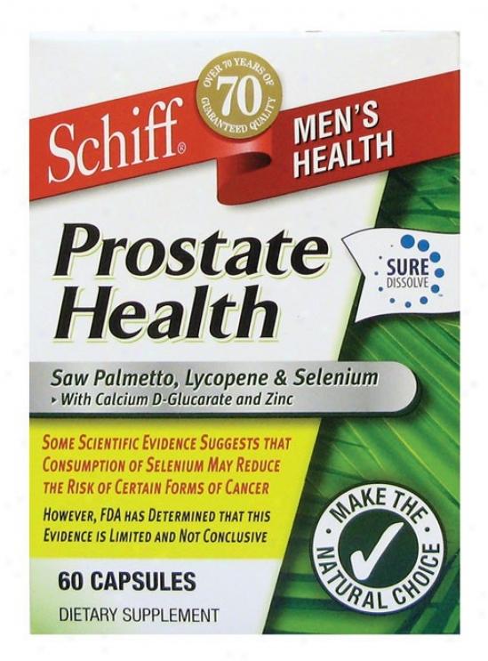Schiff's Prostate Health 60cwps