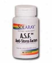 Solaray's A.s.f. Anti-stress Factors 60caps