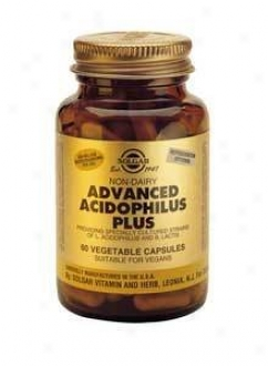 Solgar Advanced Acidophilus (non Dairy) 100vcaps~