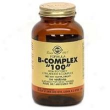 """Solgar B-complex """"""""100"""""""" 100vcaps~"""