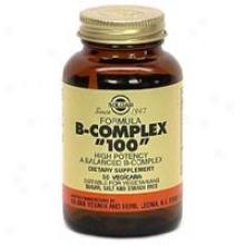 """Solgar B-complex """"""""100"""""""" 50vcaps~"""