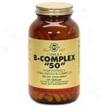 """Solgar B-complex """"""""50"""""""" 250vcaps~"""