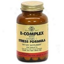 Solgar B-complex W/ C Stress 100tabs~