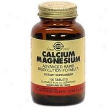 Solgar Calcium/magnesium 100tabs~