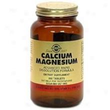 Solgar Calcium/magnesium 250tabs~