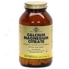 Solgar Calcium/magnesium Citrate 250tabs~