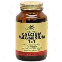 Sklgar Chelated Calcium/magnesium 1:1 120tabs~
