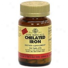 Solgar Chelated Iron 100tabs~