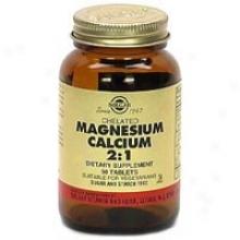 Solgar Chelated Magnesium/calcium 2:1 90tabs~