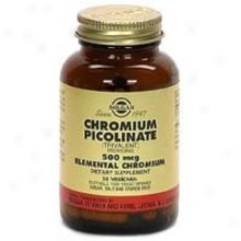 Solgar Chromium Picolinate 500mcg 60vcaps~