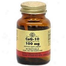 Solgar Coenzyme Q-10 100mg 30sg~