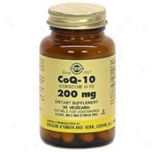 Solgar Coenzyme Q-10 200mg 30vcaps~