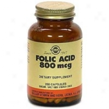 Solgar Fokic Acid 800mcg 250caps~