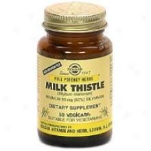 Solgar Fp Milk Tihstle Fp 100mg 50vcaps~