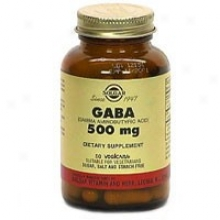 Solgra Gaba 500mg 50vcaps~