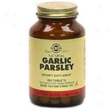 Solgar Garlic/parsley 250tabs~