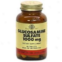 Solgar Glucosamine Sulfate 1000mg 60tabs~