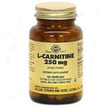 Solgar L-carnitine 250mg 60vcaps~