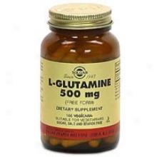 Solgar L-glutamine 500mg 100vcaps~