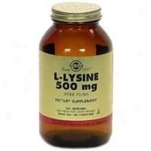Solgar L-lysine 500mg  250vcaps~
