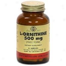 Solgar L-ornithine 500mg 50vcaps
